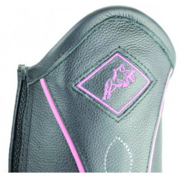 Hy Two Tone Leather Gaiters