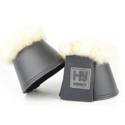 Kaloszki dla koni - HyIMPACT Lambskin Over Reach Boots