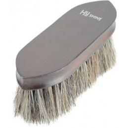 HySHINE Deluxe Horse Hair Wooden Dandy Brush