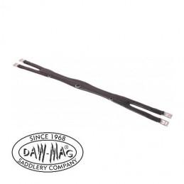 Popręg skórzany miękki DAW MAG