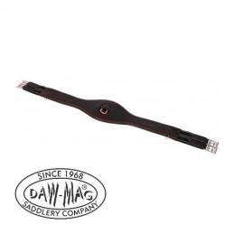 Popręg skórzany elastyczny treningowy DAW MAG