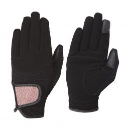 Rękawiczki z brokatem Hy Roka