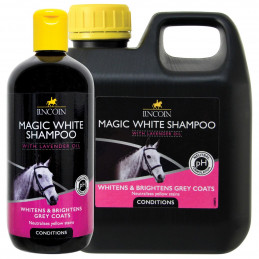 LINCOLN Szampon do koni siwych MAGIC SHAMPOO