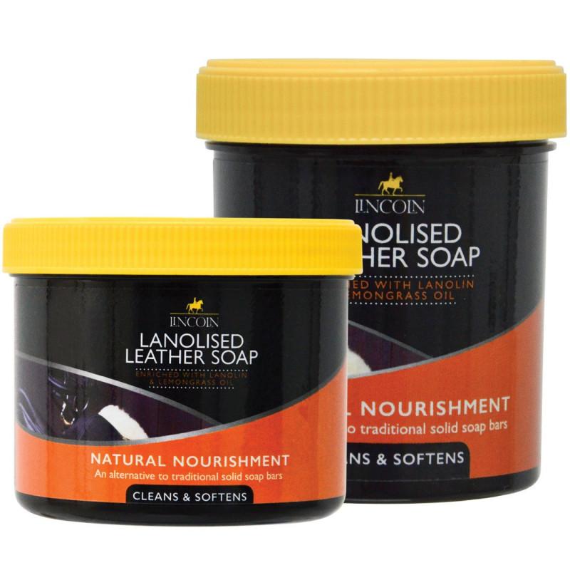 LINCOLN Mydło do skór z lanoliną Lanolised Soap