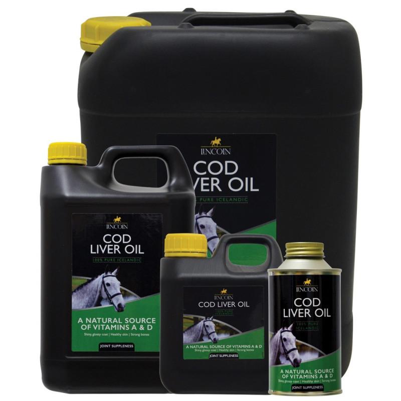 Olej z wątroby dorsza LINCOLN COD LIVER OIL