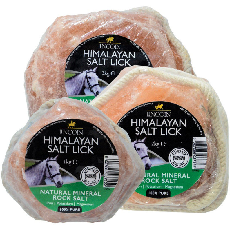 Sól himalajska dla koni firmy Lincoln 1kg
