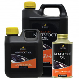 Lincoln Classic Neatsfoot Oil- Olej do skóry, woodoporny