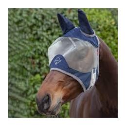 Maska na muchy dla koni - Lemieux z uszami 24h