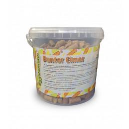 Lecker Bricks Bunter Eimer Eggersmann - Przysmaki w 3 smakach