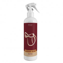 Leather Soap Spray Over Horse