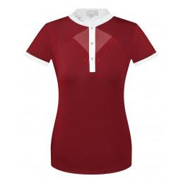 Koszulka konkurs FP CATHRINE bordo-biały