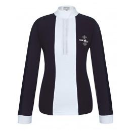 Koszulka FP CLAIRE Pearl LS czarno-biały