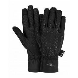 Rękawiczki zimowe do jazdy konnej FP GRIPPI WINTER czarne