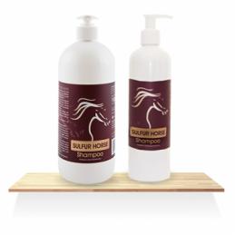 SULFUR HORSE Shampoo Over Horse