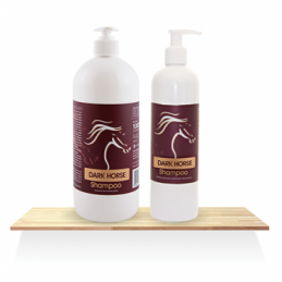 DARK HORSE Shampoo Over Horse