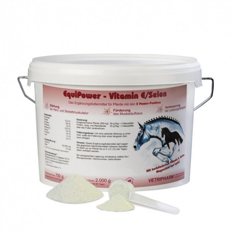 Equi Power Vitamin E z selenem- pasza uzupełniająca dla koni