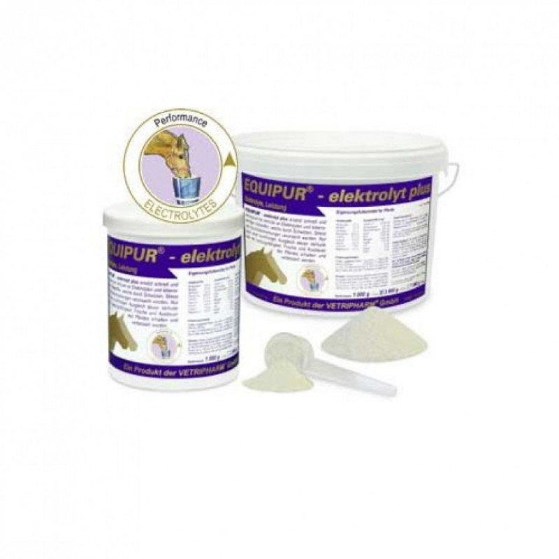 Equipur-elektrolyt plus - mineralna pasza uzupełniająca dla koni