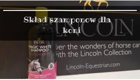 Skład szamponów dla koni